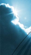 Foto: Sonne hinter Wolken